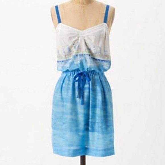 2e26fe9b22641 Anthropologie Dresses & Skirts - Anthropologie Lilka beach chair dress size  M